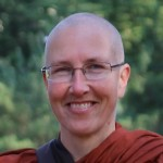 head shot of a bhikkhuni