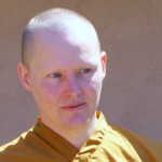 head shot of a monk