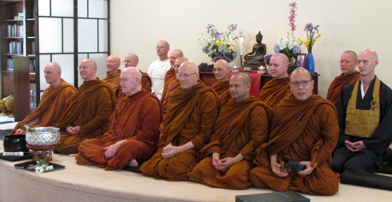 Grand Opening Monastic Visitors